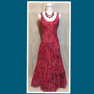 Jones Wear Multi Layered Maxi Dress